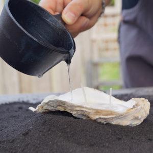 kaars-oester-vullen-kaarsvet